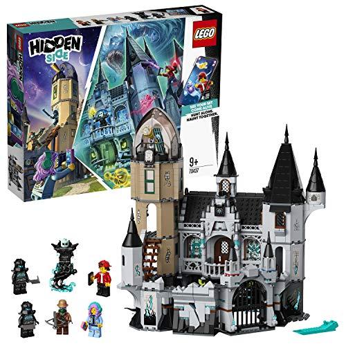 LEGO 70437 Hidden Side Geheimnisvolle Burg, Spielzeug, AR Games App, Interaktives Multiplayer Augmented...