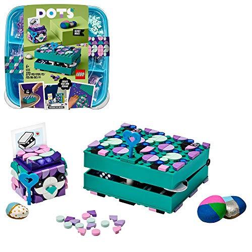 LEGO 41925 DOTS Geheimbox mit Schlüsselhalter, Schreibtischdeko,...