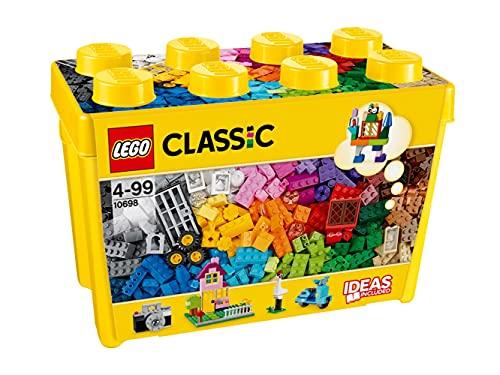 Lego 10698 Classic Große kreative Bausteine-Box, Aufbewahrungsbox,...