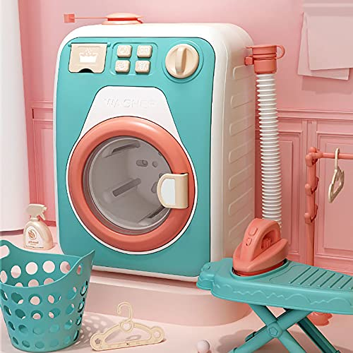 Kleinkind Waschmaschine Kinder-Rollenspiele,Kinderwaschmaschine mit...