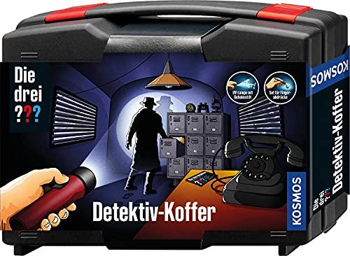 KOSMOS 630553 Die drei ??? Detektivkoffer, Detektiv Spielzeug Set für...