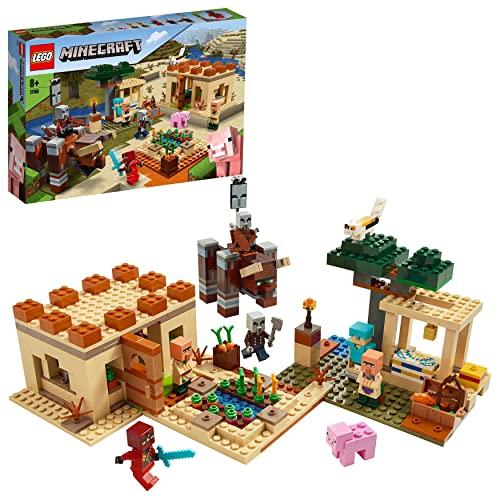 LEGO 21160 Minecraft Der Illager-Überfall Bauset mit Verwüster und...