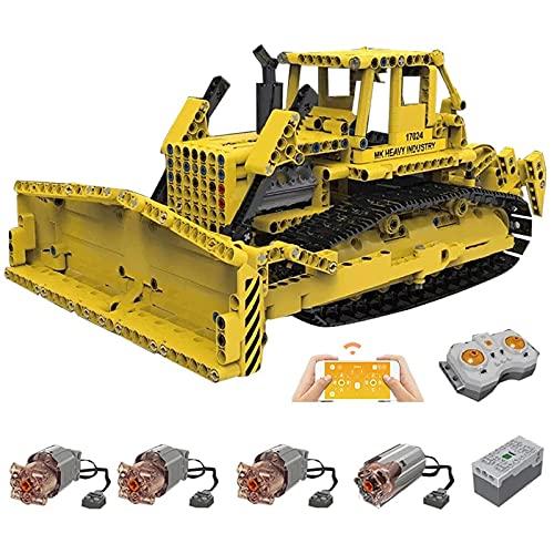 Technic RC Bulldozer mit 4 Motoren, 1:20 Crawler Bulldozer...