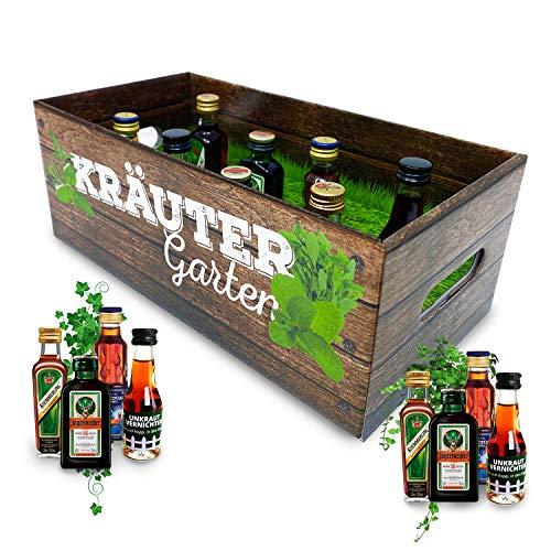 Männer-Kräutergarten | witziges Geschenk mit Alkohol | 8x...