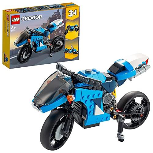 LEGO 31114 Creator 3-In-1 Geländemotorrad aus Bausteinen, klassisches...