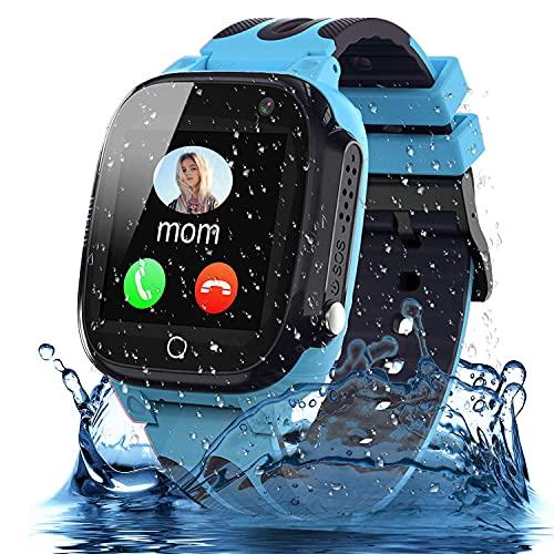 Smooce Smartwatch Kinder Telefon, wasserdichte Smartwatch für Kinder...
