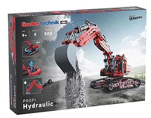 fischertechnik 548888 Hydraulik Spielzeug Bagger für Kinder mit...