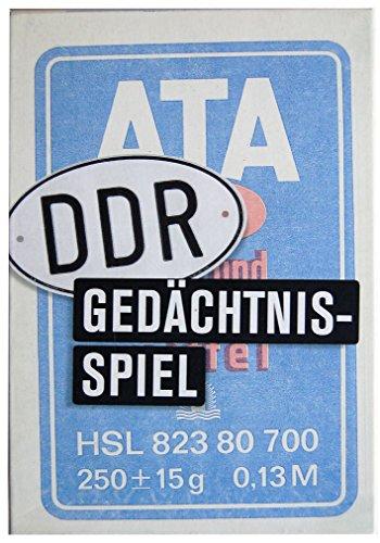 Memo / Gedächtnisspiel 13 x 19 x 4 cm • 40089 ''Das DDR...