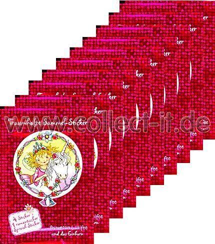 Generisch Prinzessin Lillifee und das Einhorn Sticker - 10 Tüten