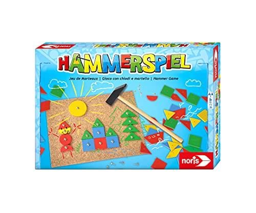 Noris 606049101 Hammerspiel, Lern- und Geschicklichkeitsspiel mit 50...
