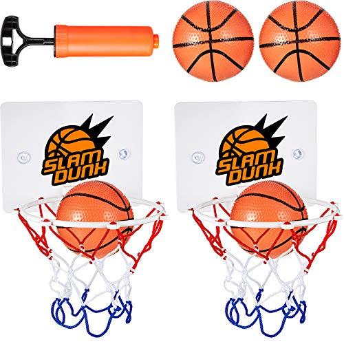 7 Stücke Mini Basketball Korb Set Enthält 2 Stücke Mini Basketball...