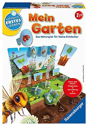 Ravensburger 24733 - Mein Garten - Lernspiel für Kinder ab 1,5...