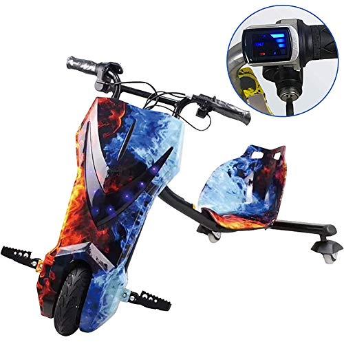 Elektro Motor Dreirad Elektrisches Dreirad Für Kinder Drift Trike Mit Coolem LED-Scheinwerferdesign...