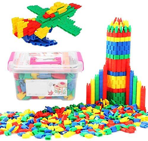 Bauklötze Kinderspiel Steckbausteine für Kinder ab 3Jahre Alter...