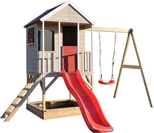 Wendi Toys M9 Spielhaus Garten Holz | Spielhaus Kinder Holz |...