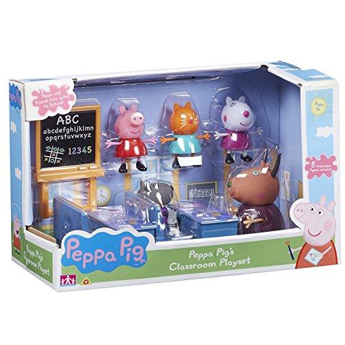 Peppa Wutz, Klassenzimmer-Spielset, inkl. Peppa Wutz und Freunde