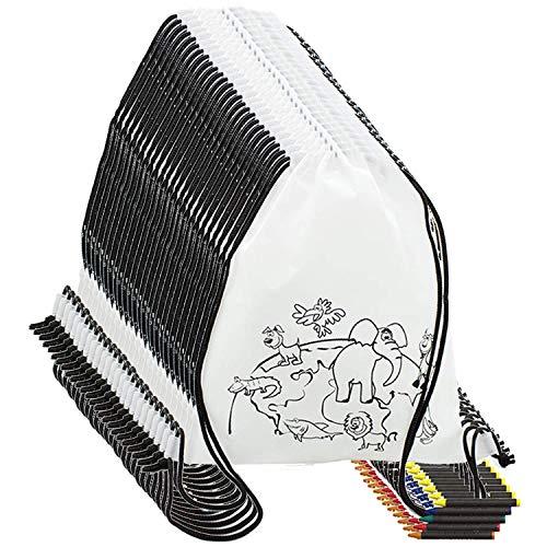 Partituki Mitgebsel Kindergeburtstag 10 Taschen Zu Malen, 10 Sets mit...