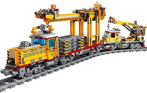 Adventskalender Zug Set DIY Baustein Modell Lok Zug Spielzeug mit...