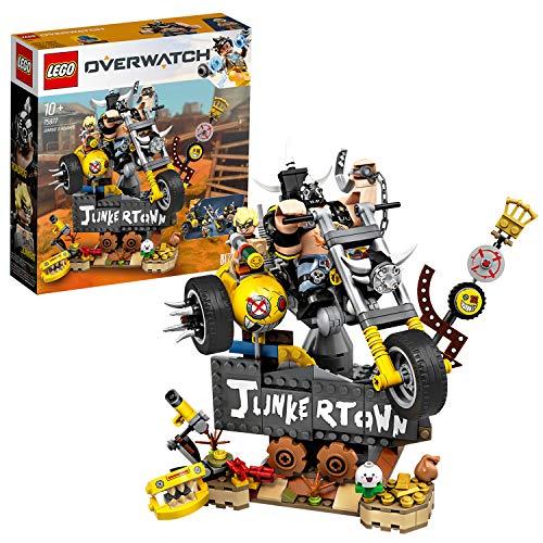 LEGO 75977 Junkrat & Roadhog, Overwatch-Bauset für Jungen und Mädchen ab 9 Jahren, Mehrfarbig