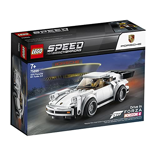 Lego 75895 Speed Champions 1974 Porsche 911 Turbo 3.0 Spielzeugauto,...