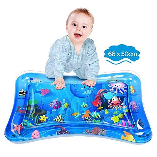 Dusor Wassermatte Baby, Wasserspielmatte BPA-frei, Baby Spielzeug 3 6...