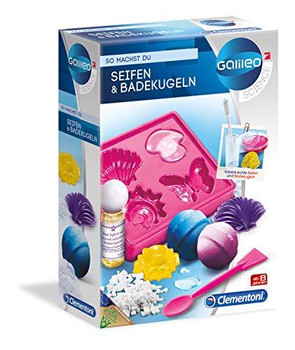 Clementoni 59013 Galileo Science – Seifen und Badekugeln, Spielzeug...