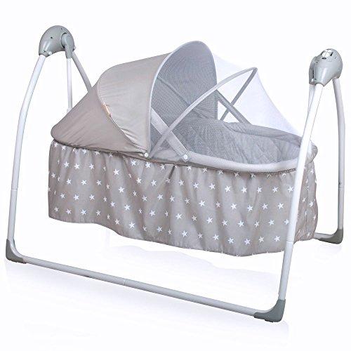 Baninni Gondola elektrische Babywiege Babyschaukel Babybett mit... *