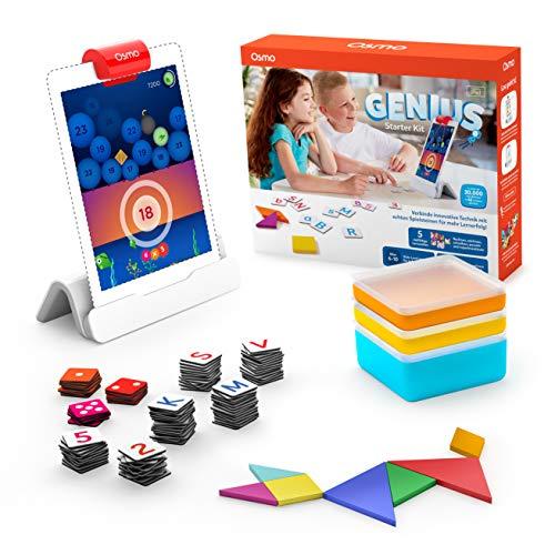 Osmo - Genius Starter Kit für iPad - 6-10 Jahre - Mathematik,...