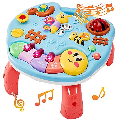LINFUN KIDS Baby Musikspielzeug Spieltisch Musik Lerntisch...