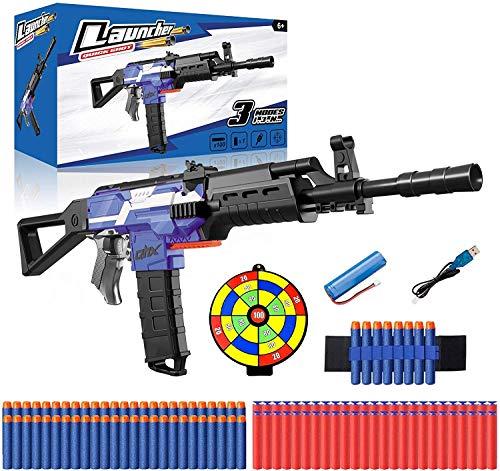 Elektrische Spielzeug Pistole mit 12 Clip Magazin,...