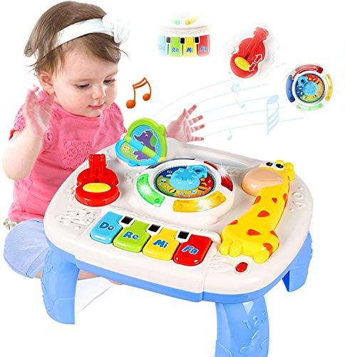 ACTRINIC Musiktisch für Babys, 6 bis 12 Monate, Bildungsspielzeug,...