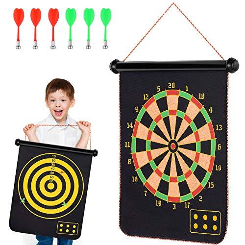 ATOPDREAM Spielzeug für Jungen 4-15 Jahre, Dartscheibe Outdoor Spiele für Kinder Jungen Geschenke Weihnachts...