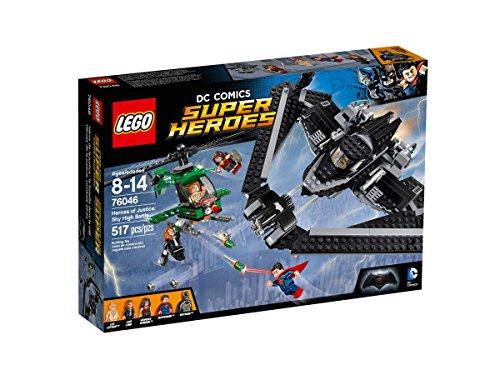 Lego DC Super Heroes 76046 - Helden der Gerechtigkeit: Duell in der...
