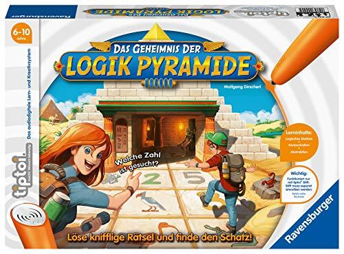 Ravensburger tiptoi Spiel 00042 Das Geheimnis der Logik-Pyramide -...