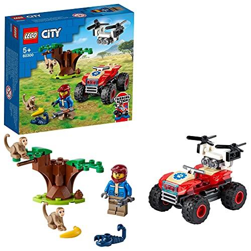 LEGO 60300 City Wildlife Tierrettungs-Quad Geländewagen,...
