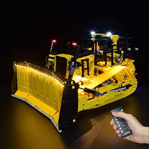 BRAGO LED Beleuchtungsset für 42131 Bulldozer, LED Licht Kompatibel...