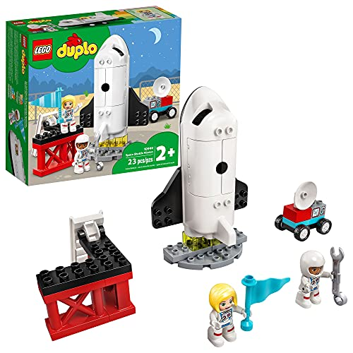LEGO DUPLO Town Space Shuttle Mission 10944 Building Toy; Space...