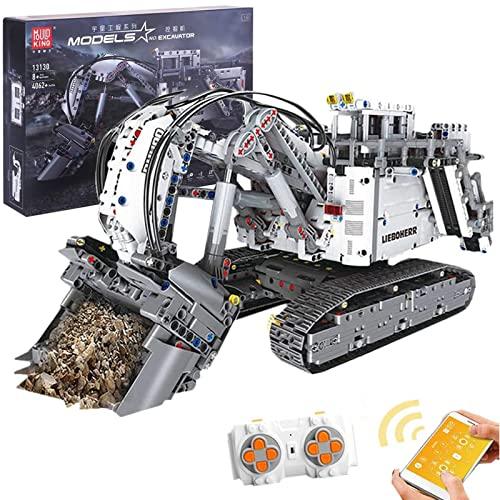 Technik Bagger Bausteine Modell mit 2,4 GHz Fernbedienung und...