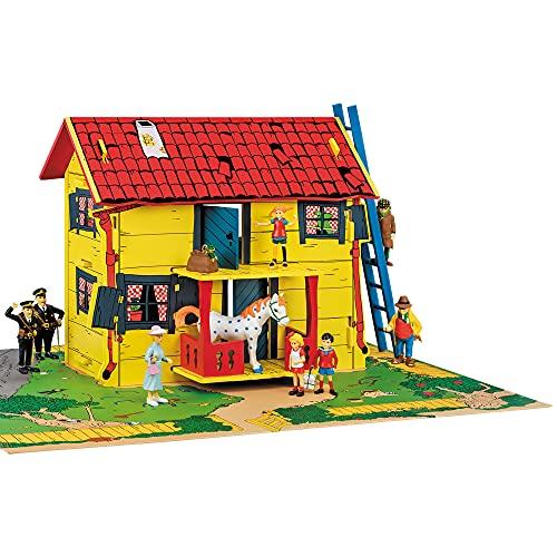 Micki & Friends 44-3753-00 - Pippi Langstrumpf Spielhaus in MDF...