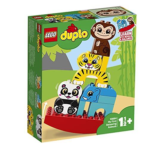 LEGO 10884 DUPLO Meine erste Wippe mit Tieren, Vorschulspielzeug für...