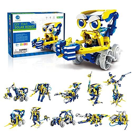 CIRO Solar Roboter Bausatz Kinder, 11-IN-1 STEM Experimentierkasten...