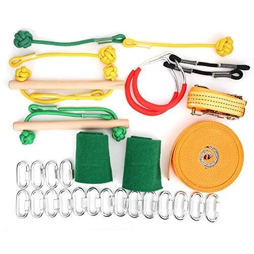 LUCE Outdoor Kinder Kletterzaun Geländer Set Balance Training Kit...