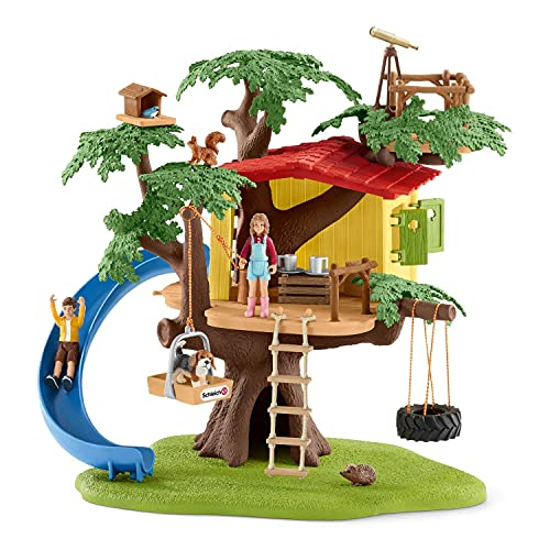 Schleich 42408 Farm World Spielset - Abenteuer Baumhaus, Spielzeug ab...