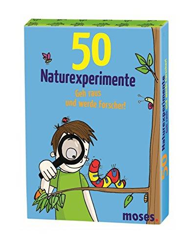 moses. MOS21079 50 Naturexperimente Geh raus und werde Forscher!  ...