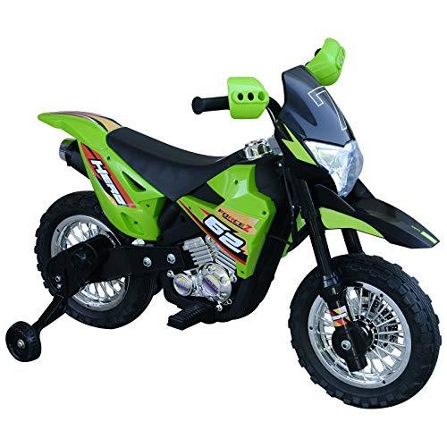 HOMCOM Elektro-Motorrad Kindermotorrad Elektrofahrzeug 3 bis 6 Jahre...