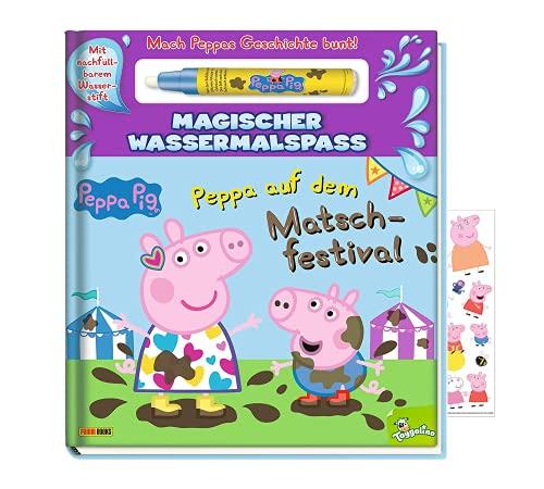 Buchspielbox Peppa Pig - Peppa auf dem Matschfestival - Magischer...