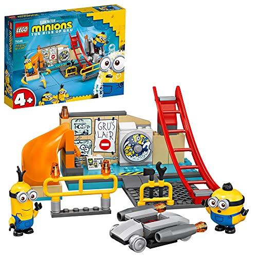 LEGO 75546 Minions in Grus Labor Spielzeug für Kinder ab 4 Jahre mit...