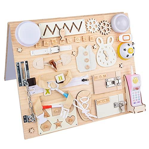 duhe189014 Montessori-Spiele Spielzeug Für Kinder Interaktive...