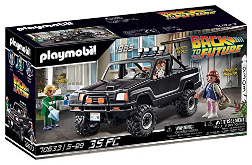PLAYMOBIL Back to the Future 70633 Marty's Pick-up Truck, Ab 5 Jahren