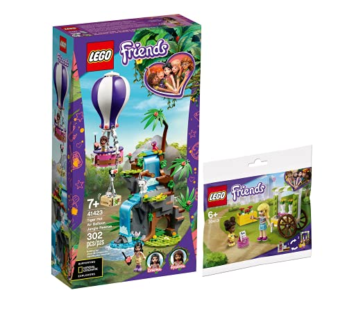 Collectix Lego Set - Friends Tiger-Rettung mit Heißluftballon 41423 +...